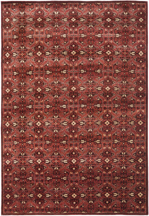 Ralph Lauren Sheldon RLR7732B Lakehouse Red Area Rug