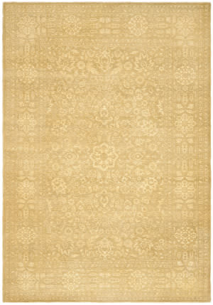 Ralph Lauren Harper Tonal RLR8753B Madison Gold Area Rug