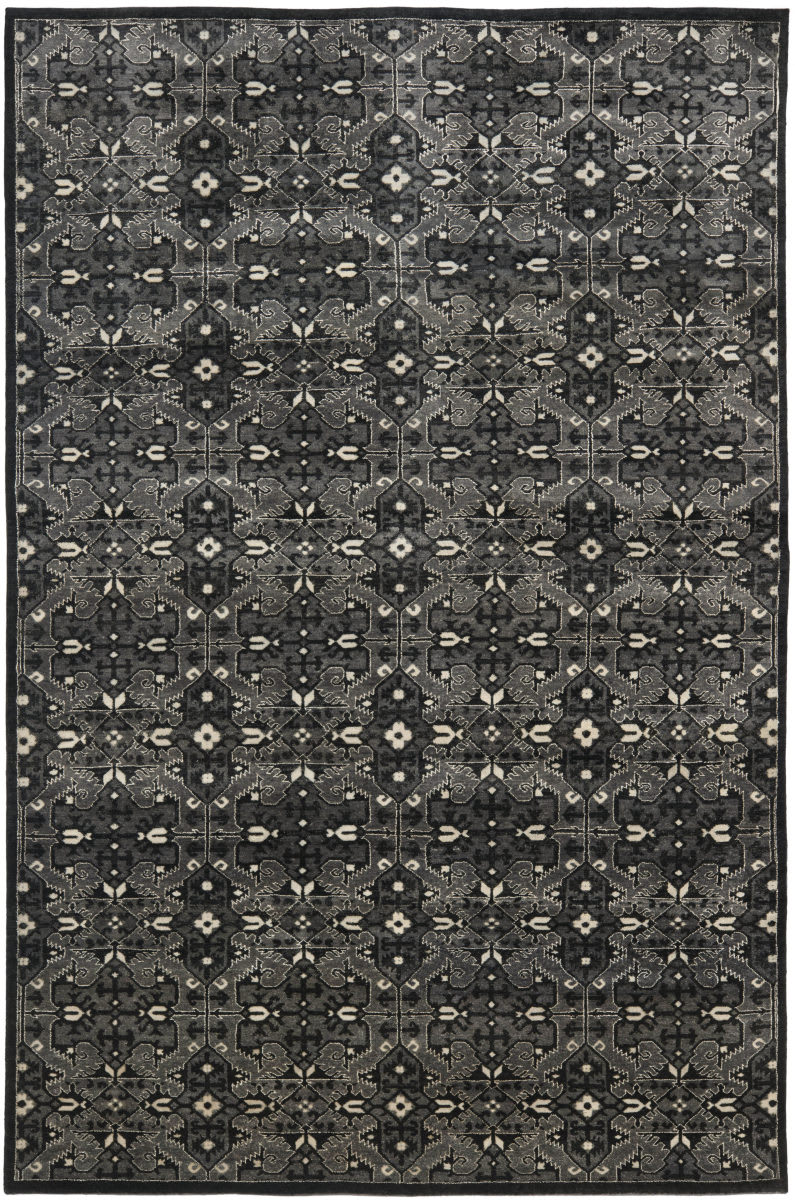 Ralph Lauren Sheldon Rlr7732d Mountain Grey Area Rug 70534