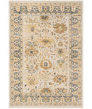 Ralph Lauren Power Loomed Lrl1282k Beige - Light Grey Area Rug