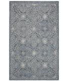 Ralph Lauren Hand Tufted Lrl6603m Blue - Ivory Area Rug