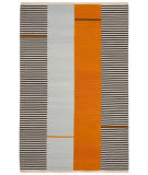 Ralph Lauren Aryn Stripe LRL7310A Persimmon Area Rug