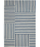 Ralph Lauren Canyon Stripe Patch RLR2867E Pacific Area Rug