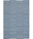 Ralph Lauren Cameron Stripe RLR5315B Indigo Chambray Area Rug