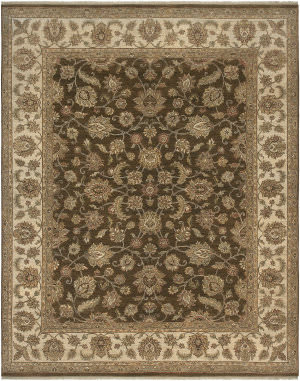 Ramerian Anthia 100-ANQ Brown - Beige Area Rug