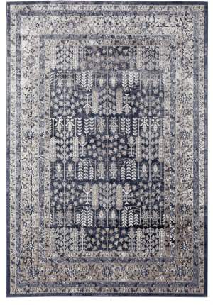 Ramerian Bellamy 300-BLM Black Area Rug