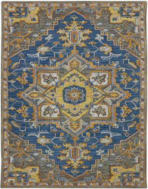 Ramerian Bolanle 600-BOH Pastel Blue Area Rug