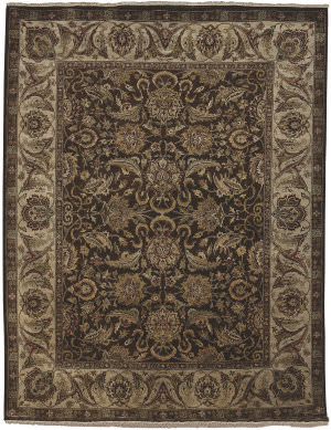 Ramerian Luana 5900-CD Chocolate - Cream Area Rug