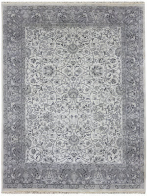Ramerian Luana 6400-CD Ivory - Iron Area Rug