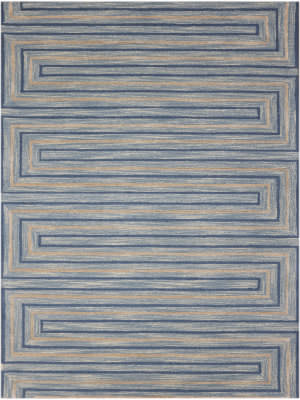Ramerian Dirce 300-DWE Light Blue Area Rug