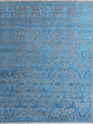 Ramerian Joy 700-JOY Teal Area Rug