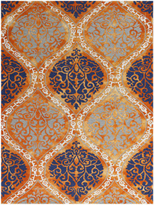 Ramerian Kandace 2000-KAN Orange Area Rug