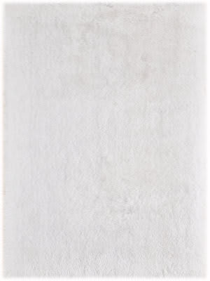Ramerian Meadow 1200-MET White Area Rug