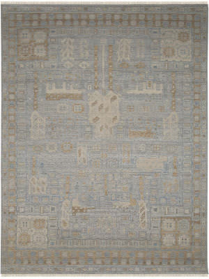 Ramerian New Carrollton Nct1 Buff Area Rug