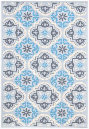 Ramerian Pietra 8000-PAZ Blue Area Rug