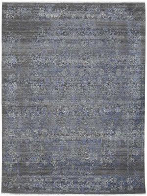 Ramerian Perryville Per8 Grey - Blue Area Rug