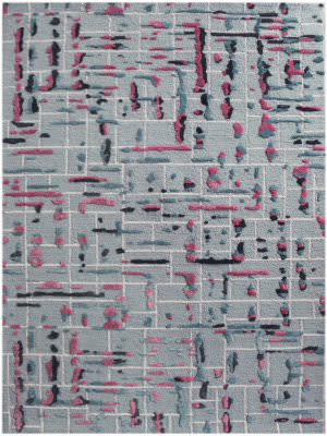 Ramerian Persephonie 2100-PRL Pink Area Rug