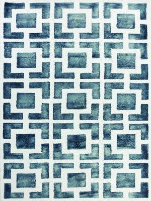 Ramerian Sherri 400-SHI Gray - White Area Rug