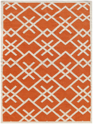 Ramerian Zada 5700-ZAR Orange Area Rug