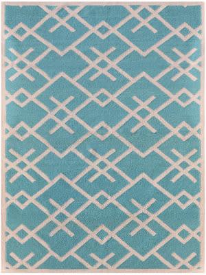 Ramerian Zada 5800-ZAR Turquoise Area Rug