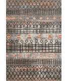 Ramerian Carissa 1800-CAR Gray - Orange Area Rug