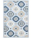 Ramerian Pietra 5500-PAZ Light Blue Area Rug