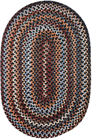 Rhody Rugs Astoria As82 Black Rock Area Rug