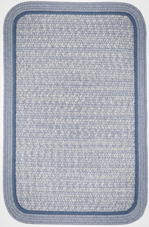 Rhody Rugs Casual Comfort Cc98 Sunrise Blue Area Rug