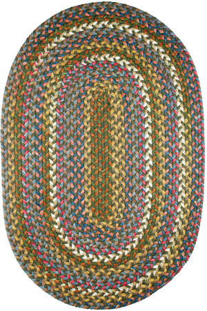 Rhody Rugs Country Jewel Cj25 Emerald Area Rug
