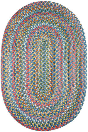Rhody Rugs Country Jewel Cj95 Sapphire Area Rug