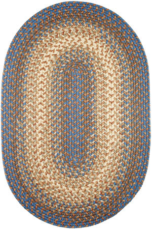 Rhody Rugs Easy Living El93 Blue Lake Area Rug