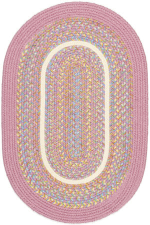 Rhody Rugs Kids' Isle Ki08 Pink Area Rug