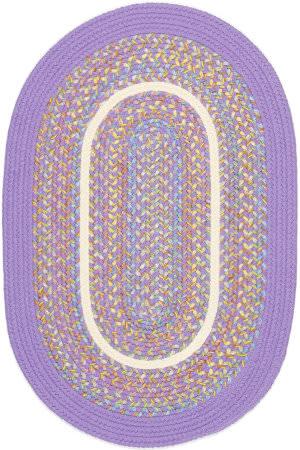 Rhody Rugs Kids' Isle Ki15 Violet Area Rug