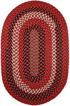 Rhody Rugs Manhattan Ma44 Red Brick Area Rug