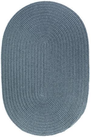Rhody Rugs Wearever S009 Ocean Blue Area Rug