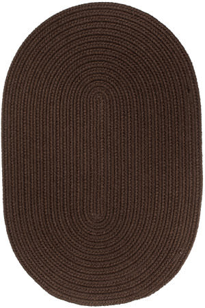Rhody Rugs Wearever S011 Brown Area Rug