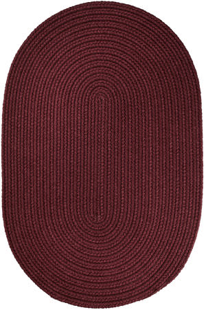 Rhody Rugs Wearever S022 Burgundy Area Rug