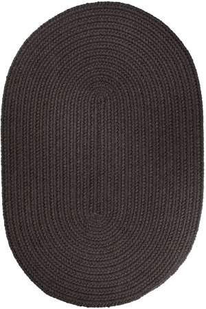 Rhody Rugs Wearever S027 Brown Velvet Area Rug