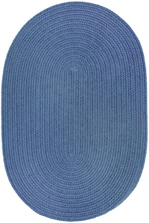 Rhody Rugs Wearever S028 Marina Blue Area Rug