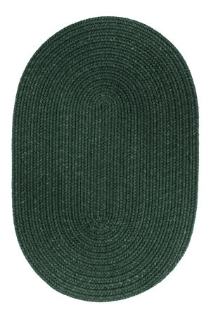 Rhody Rugs Solid S105 Hunter Green Area Rug