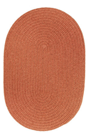 Rhody Rugs Solid S108 Terra Cotta Area Rug