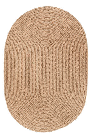 Rhody Rugs Solid S114 Taupe Area Rug