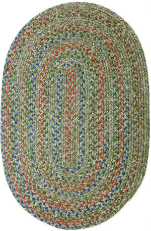 Rhody Rugs Sophia So65 Moss Green Area Rug