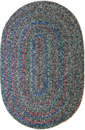 Rhody Rugs Sophia So95 Denim Blue Area Rug