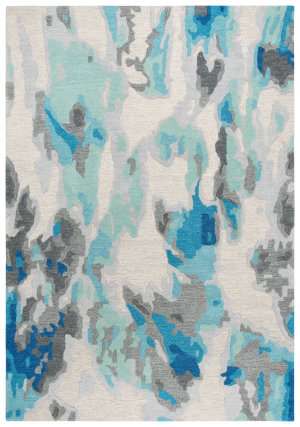 Rizzy Connie Post Cnp104 Beige - Blue Area Rug