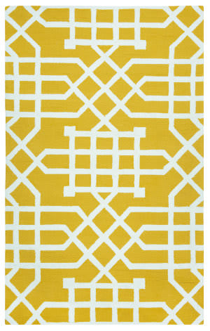 Rizzy Azzura Hill Ah-035a Yellow Area Rug