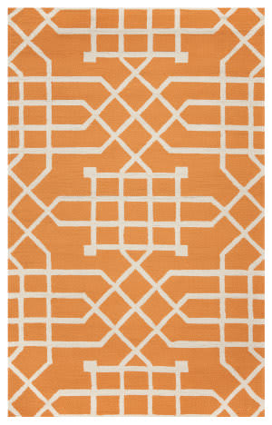 Rizzy Azzura Hill Ah-040a Orange Area Rug