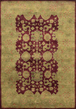 Rizzy Aquarius Aq8659 Burgundy Area Rug