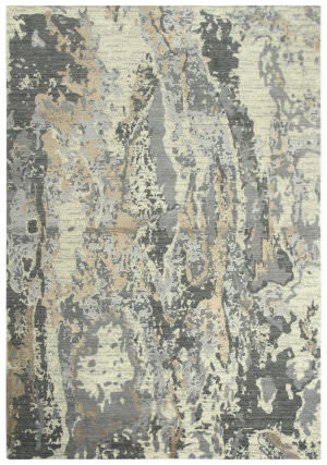 Rizzy Artistry Ary103 Beige - Ivory Gray Area Rug