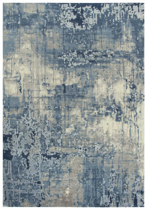 Rizzy Artistry Ary109 Blue - Ivory Gray Area Rug